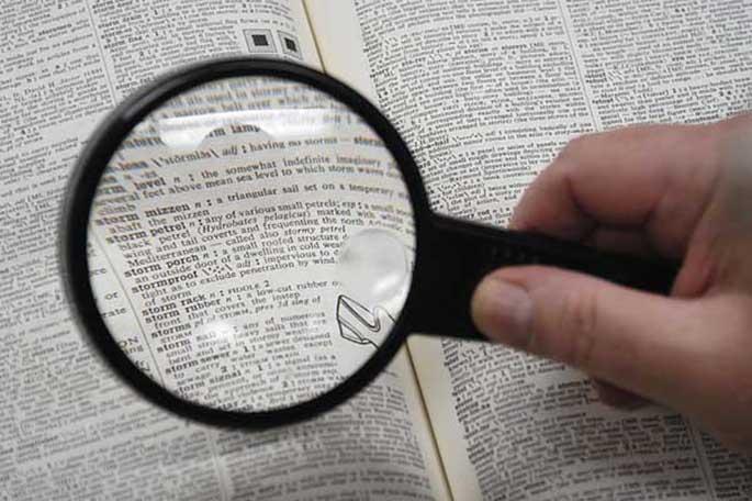falsos sinónimos español palabras