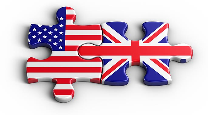 vocabulario inglés usa uk