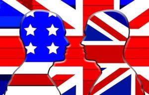 inglés británico americano